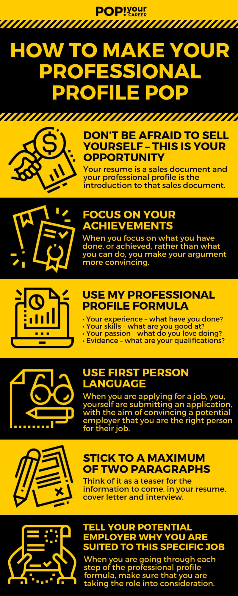 How to Make Your Professional Profile Pop